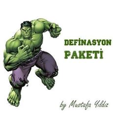 Picture of My Hulk Definasyon Paketi