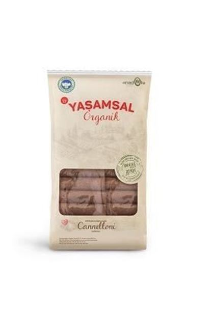 Picture of Organik Tam Buğday Makarna - Canolloni (400gr)