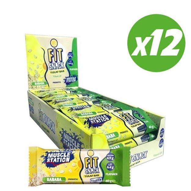 Picture of FitSnack Banana (12 adet)