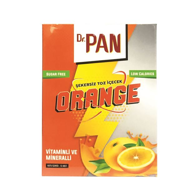 Picture of Dr.Pan Şekersiz Toz İçecek (Orange)