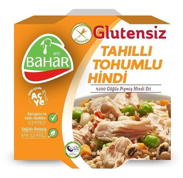 Picture of Glutensiz Tahıllı Hindi Konserve (185g)
