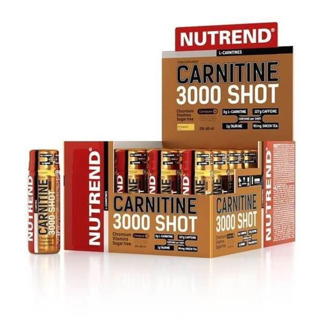 Picture of Nutrend Carnitine 3000 Shot 60 ml*20 Ampül
