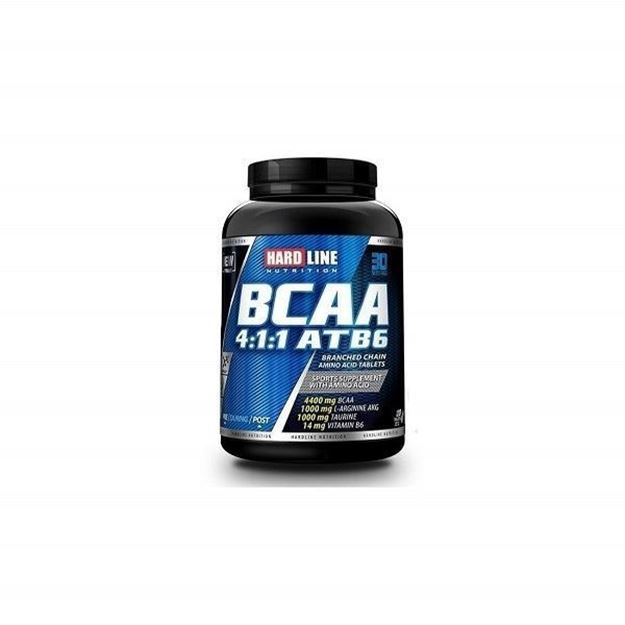 Picture of Hardline BCAA 4:1:1 Atb6  (120 Tablet)