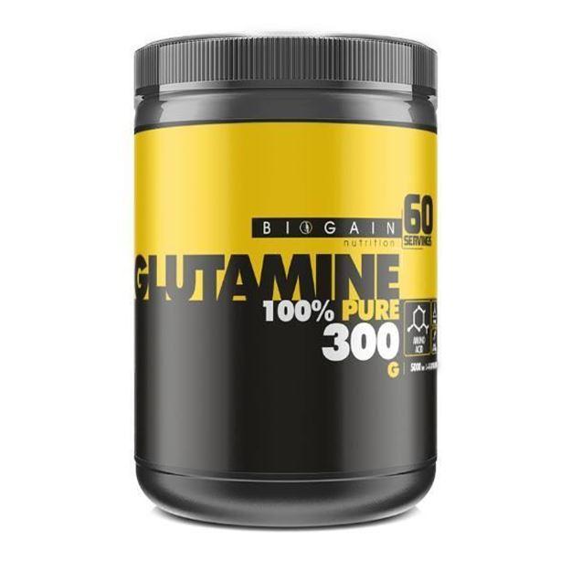Picture of Biogain Nutrition Glutamine %100 Pure Powder (300 gr)