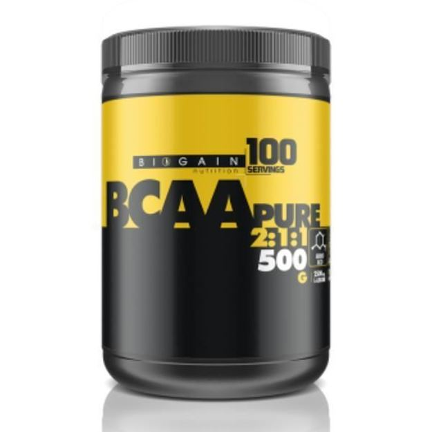Picture of Biogain BCAA Pure 2.1.1  Aromasız (500 gr)