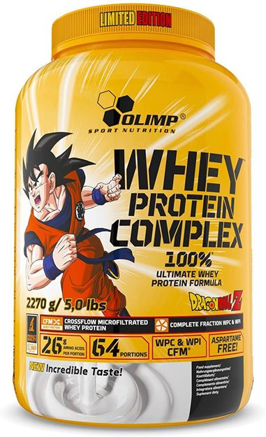 Picture of Olimp Whey Protein Complex Dragon Ball Z (2270 gr)